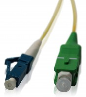 LWL Patchkabel SC/APC - LC/PC OS2 - 1,2 mm 2,3 m