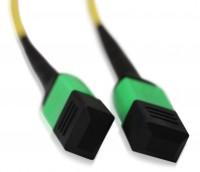 LWL Patchkabel MPO/APC - MPO/APC OS2 1 m