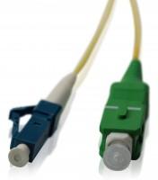 LWL Patchkabel SC/APC - LC/PC OS2 - 1,2 mm 2,3 m