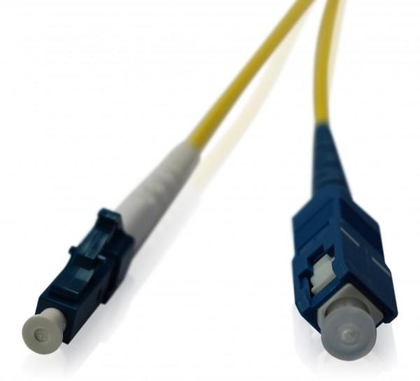 LWL Patchkabel SC/UPC - LC/UPC OS2 - 2,0 mm