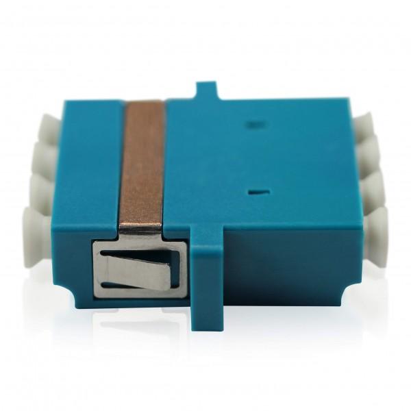 LWL Adapter LC/UPC - LC/UPC OS2 - Quad