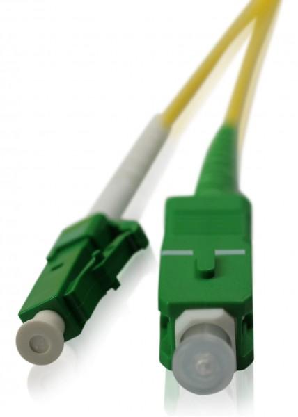 LWL Patchkabel SC/APC - LC/APC OS2 - 1,6 mm