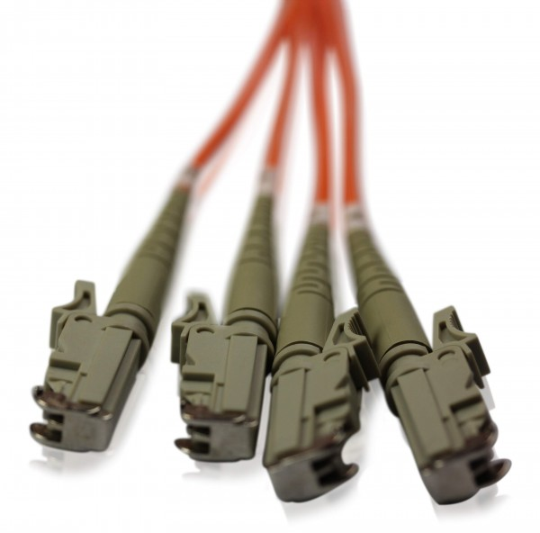 LWL Patchkabel LSH/UPC - LSH/UPC OM2 - 2,6 mm x 4,6 mm